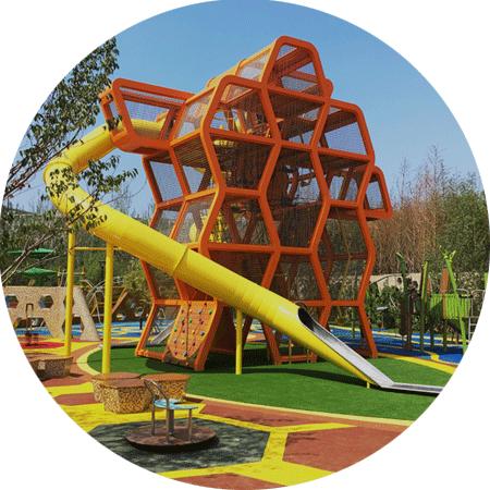 大连华润24城 · 蜂巢乐园-儿童乐园建设